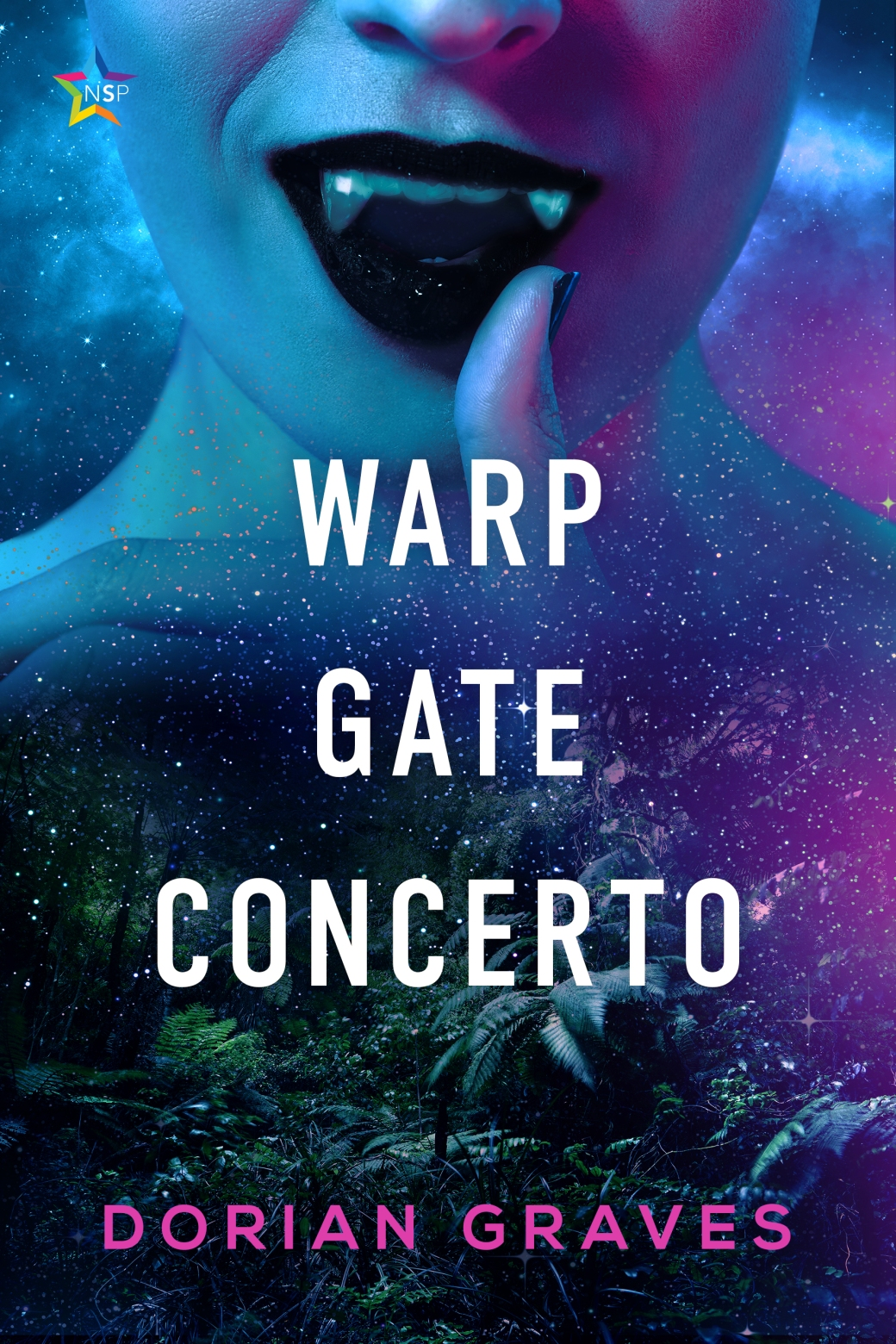 Cover for Warp Gate Concerto by Dorian Graves; art by Natasha Snow.